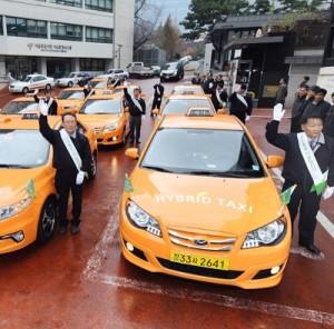 首爾市計程車費自10月12日(六)起調漲