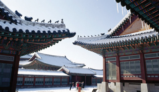 首爾的冬季