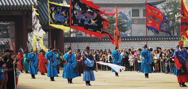 王宮守門將交接儀式