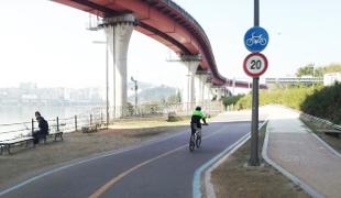 聖水大橋橋下休憩區