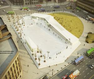 首爾廣場溜冰場於12月16日開放