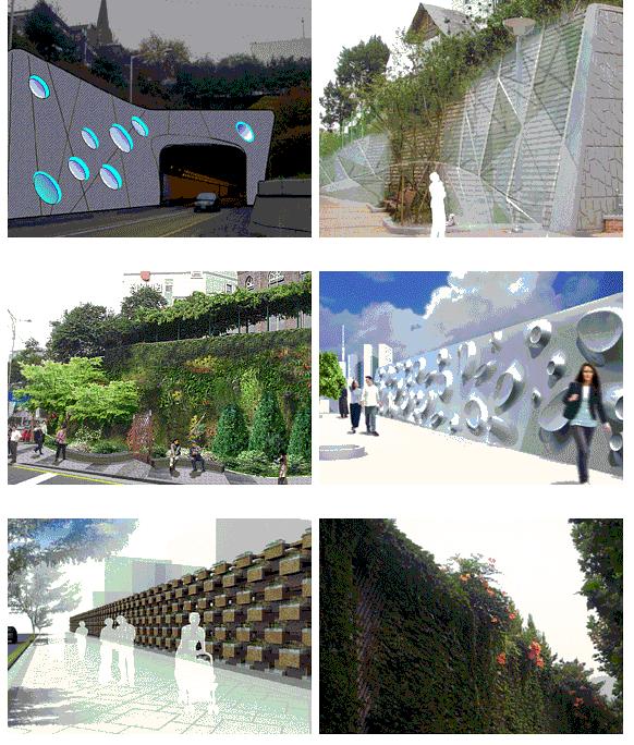 擋土牆和隔音牆之設計