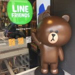 新沙洞林蔭道LINE Friends Store與LINE Cafe