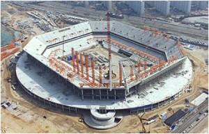 Construction of the Seoul World Cup Stadium (2000. 3. 27.)